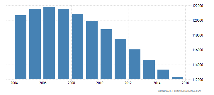 swaziland population ages 11 18 male wb data